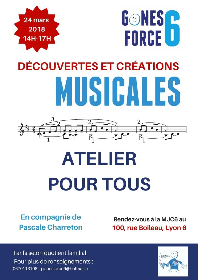 ATELIER CRÉATION MUSICALE